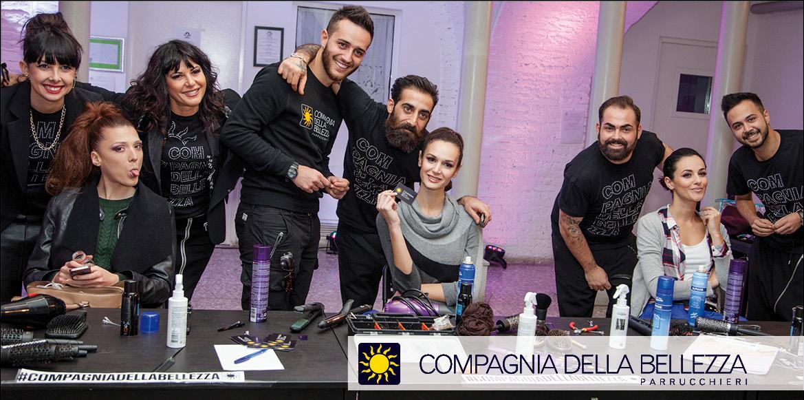 Rome Fashion White 2015: Hair Fashion Team CDB