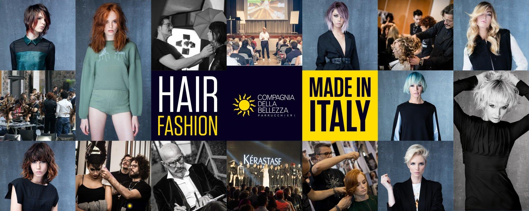 Compagnia Della Bellezza - Hair Fashion Made in Italy - Collage con Collezione Joyà Italy