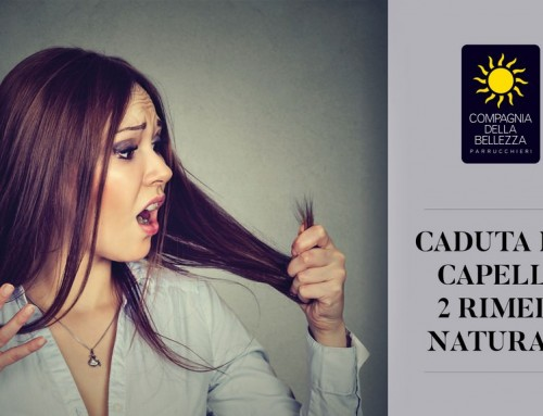 Caduta capelli: 2 rimedi naturali