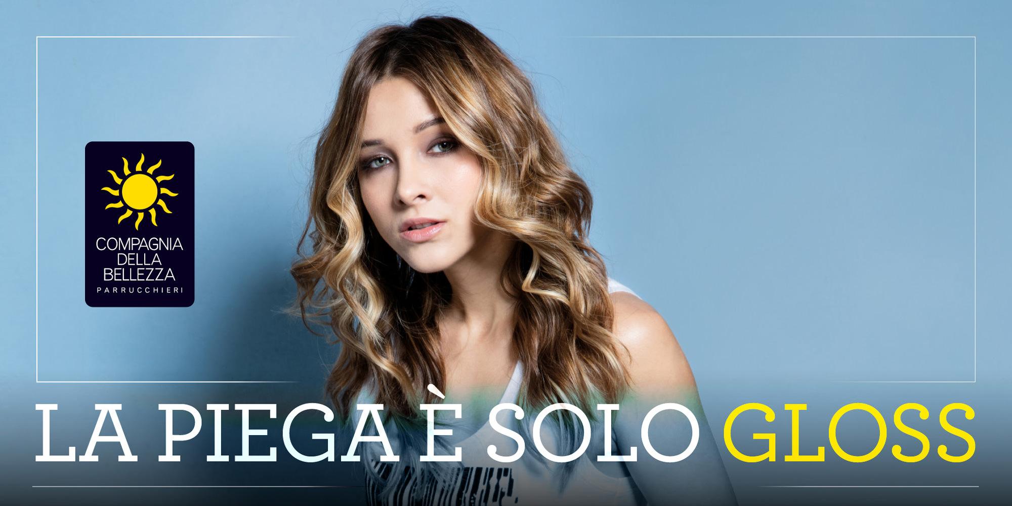 Piega Gloss – Italian Hair – Collezione Primavera Estate 2017 – © Compagnia Della Bellezza