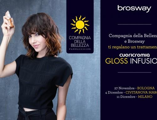 Compagnia della Bellezza e Brosway: Tu es tres jolie tour