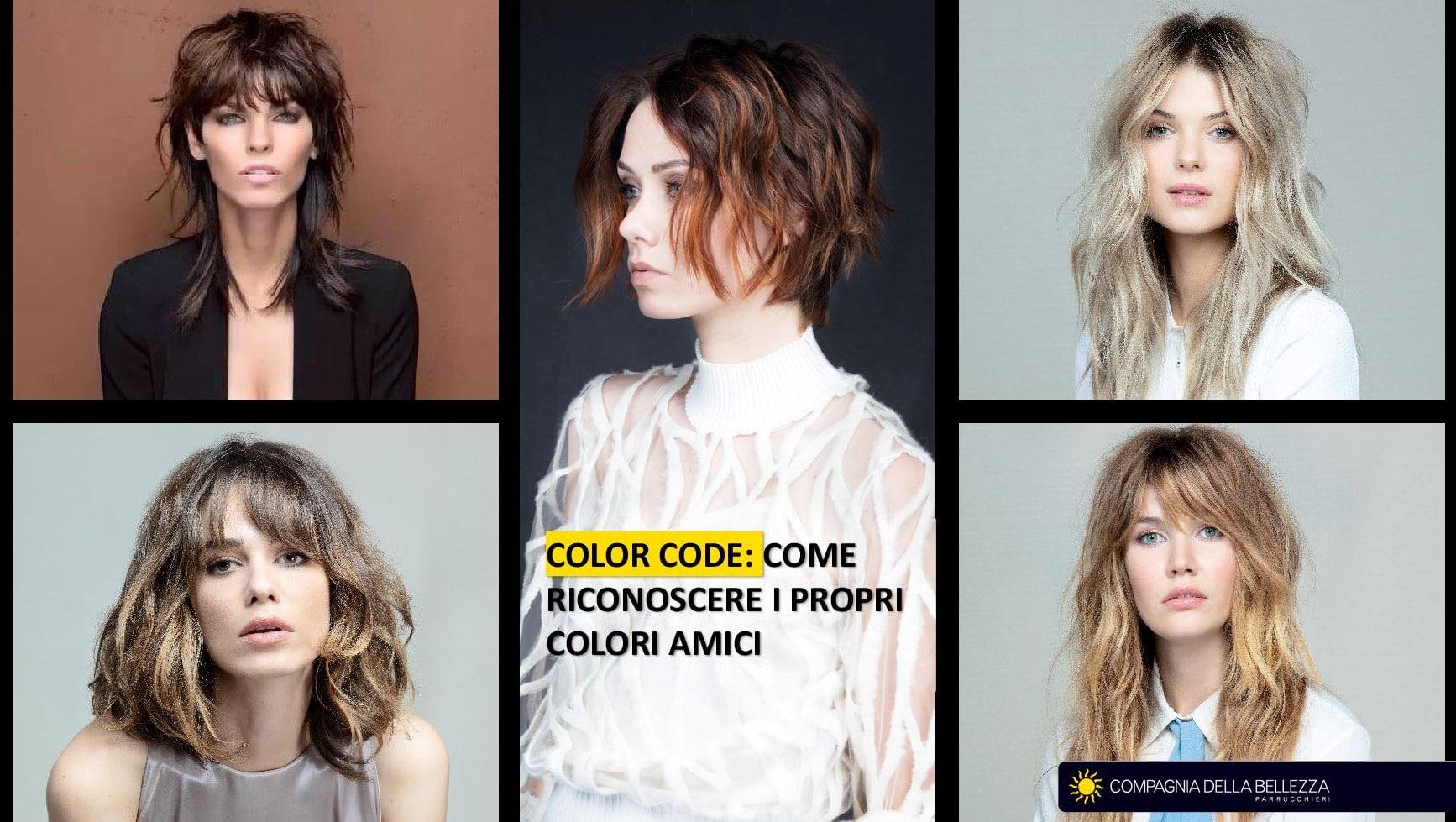Color code: come riconoscere i propri colori amici